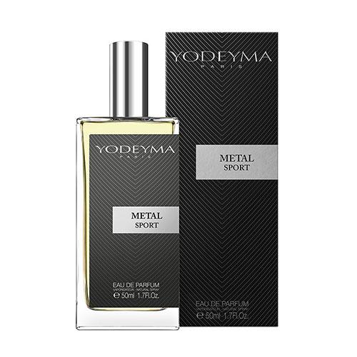 Pánský parfém YODEYMA Metal Sport 50 ml